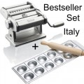 Atlas pasta machine and Ravioli plate Imperia 12 at a time Bestseller made in Italy