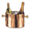 Decor Copper Double Chiller Ice Bucket with Aluminum Insert champagne wine bee