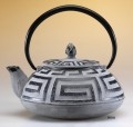 Greek Key Teapot