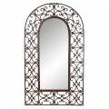Cathedral Arched wrought iron mirror