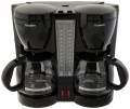Double Coffee Brew Station Black