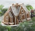 Platinum Gingerbread House Bundt Pan